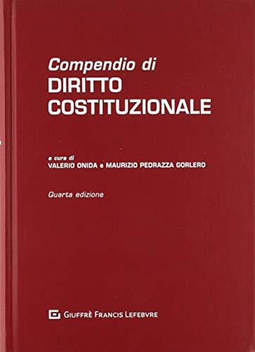 9788828804017: Compendio di diritto costituzionale