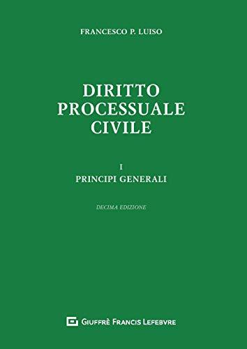 9788828813897: Diritto processuale civile: 1