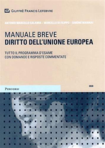 9788828817413: Diritto dell'Unione europea. Tutto il programma d'esame con domande e risposte commentate