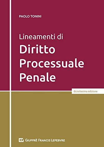 9788828821663: Lineamenti di diritto processuale penale