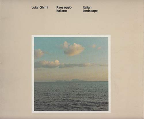 Luigi Ghirri: Italian Landscape (English and Italian Edition) (882890352X) by [???]