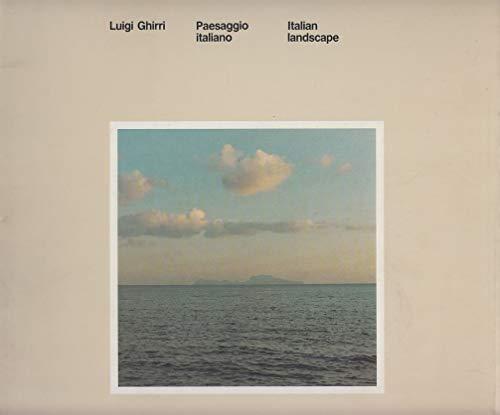 9788828903529: Luigi Ghirri: Italian Landscape (English and Italian Edition)
