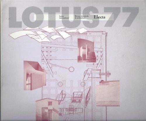 9788828906599: Lotus 77: Lotus International Rivista Trimerstrale de Architettura (Lotus International Magazine of Architecture)