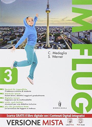 9788829840410: Im flug. Con Die gestohlene kette. Per la Scuola media. Con e-book. Con espansione online: 3