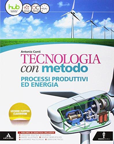 9788829850648: Tecnologia con metodo. Cartelletta-Quaderno-Disegno-Tavole-Atelier-Me book. Per la Scuola media. Con e-book. Con espansione online