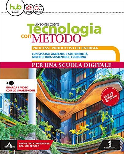 9788829853632: Tecnologia con metodo compatto. Per la Scuola media. Con e-book. Con espansione online. Con 3 libri: Disegno-Coding-tavole disegno