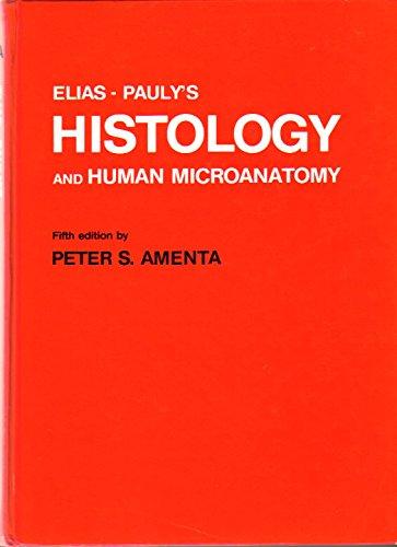 9788829905980: Elias-Pauly's Histology and Human Microanatomy