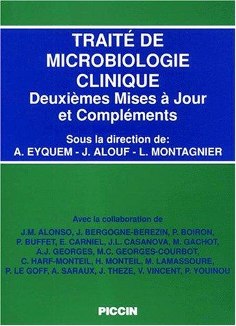 9788829915453: Traité de microbiologie clinique. Deuxièmes mises à jour et compléments