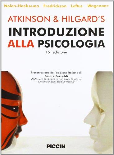 9788829920464: Atkinson & Hilgard?s. Introduzione alla psicologia