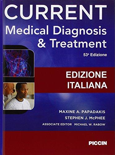 9788829927326: Current medical diagnosis & treatment