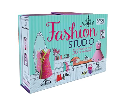 9788830301214: Fashion studio. 50 favolosi outfit da realizzare. Nuova ediz. Con gadget