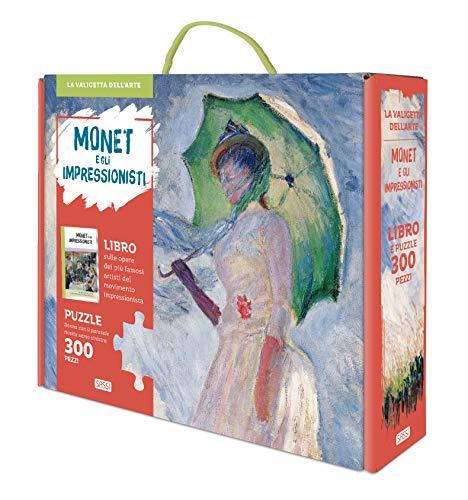 9788830302402: Monet e gli impressionisti. La valigetta dell'arte. Ediz. a colori. Con puzzle