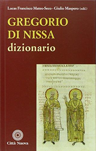 9788831193368: Gregorio di Nissa. Dizionario