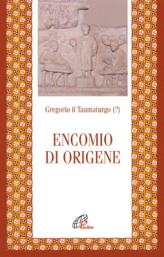 9788831522793: Encomio di Origene