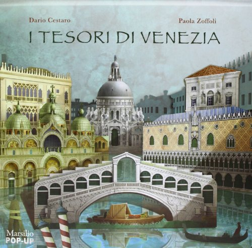 9788831715751: I tesori di Venezia. Libro pop-up