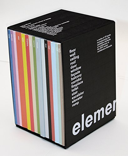 9788831720199: Elements : A series of 15 books accompanying the exhibition Elements of architecture at the 2014 Venice architecture biennale