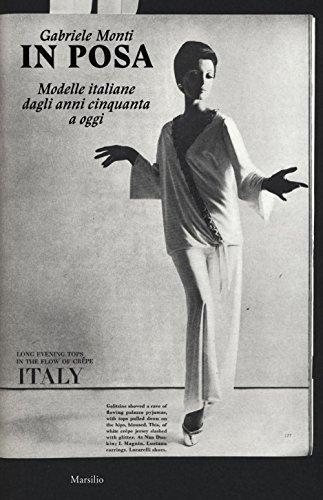 9788831726504: In posa. Modelle italiane dagli anni cinquanta a oggi