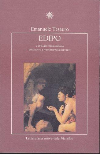 Edipo.: Tesauro,Emanuele.