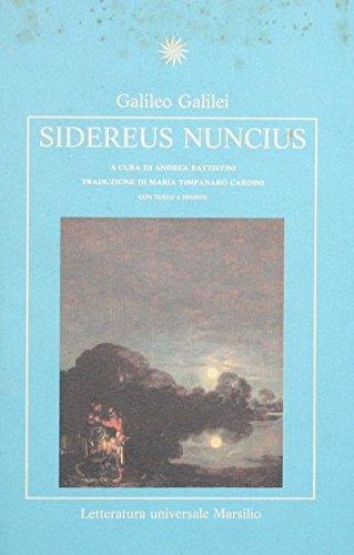 9788831757515: Sidereus nuncius (Letteratura universale. Esperia)