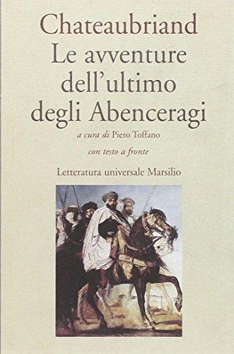 Racconti.Atala.-Renato.-Le avventure dell'ultimo degli Abenceragi.: De Chateaubriand,F.R.