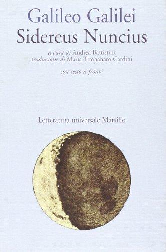 9788831766197: Sidereus nuncius (Letteratura universale. Esperia)