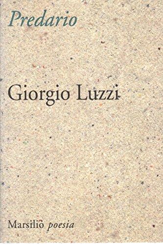 Predario (Poesia) (Italian Edition) (8831766341) by Luzzi, Giorgio