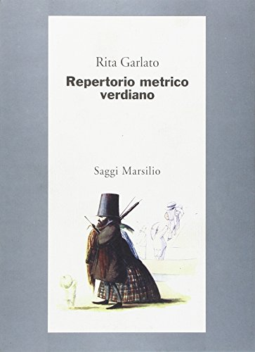9788831769976: Repertorio Metrico Verdiano
