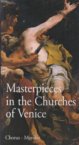 9788831773447: MASTERPIECES IN THE CHURCHES OF VENICE.