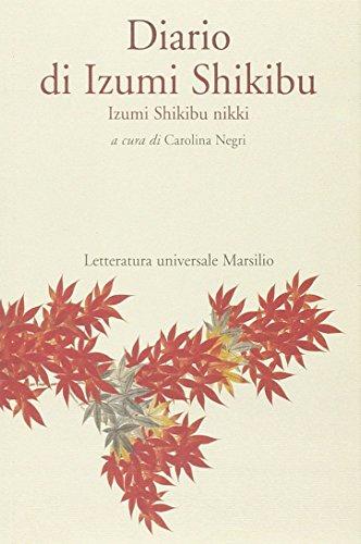 9788831795838: Diario di Izumi Shikibu (Letteratura universale. Mille gru)