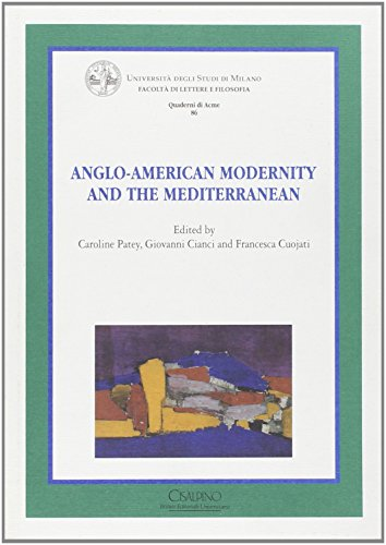 9788832360622: Anglo-american Modernity and the Mediterranean