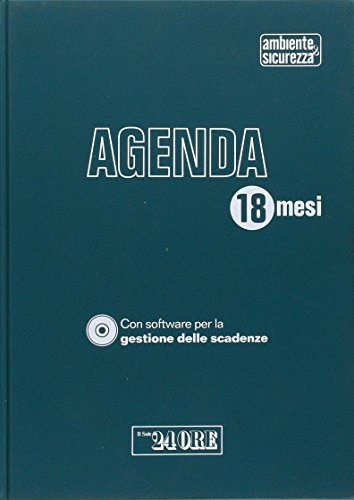 9788832475265: Agenda di Ambiente & sicurezza. Con CD-ROM