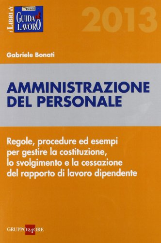 9788832482973: Amministrazione del personale