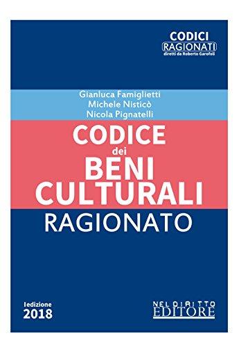 9788832702644: Codice dei beni culturali ragionato