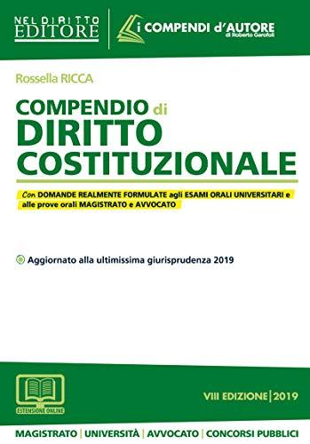 9788832703962: Compendio di diritto costituzionale. Con espansione online