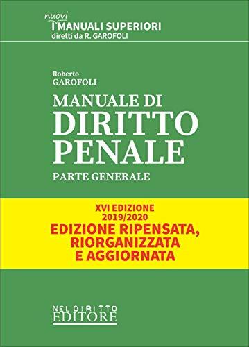 9788832705188: Manuale di diritto penale. Parte generale