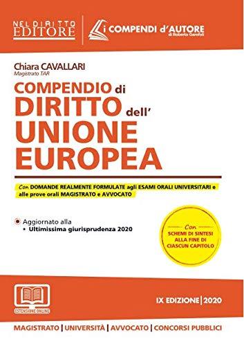 9788832706055: Compendio di diritto dell'Unione Europea. Con espansione online