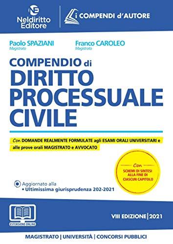 9788832707953: Compendio di diritto processuale civile