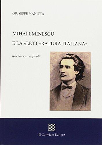 Mihai Eminescu e la «Letteratura italiana». Ricezione: Giuseppe Manitta