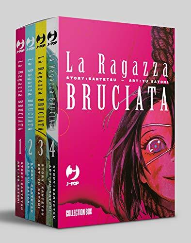 9788832758542: La ragazza bruciata. Collection box: La Ragazza Bruciata. Box: 1-4