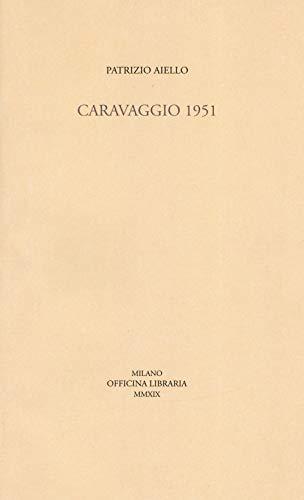 9788833670096: Caravaggio 1951
