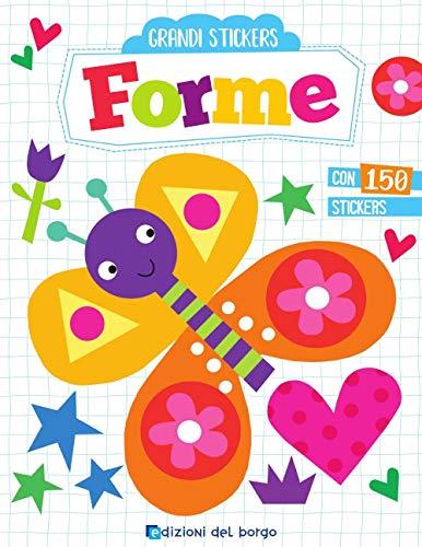 9788833710181: Forme. Grandi stickers