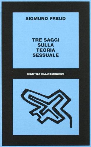 9788833902074: Tre saggi sulla teoria sessuale (Biblioteca Bollati Boringhieri)