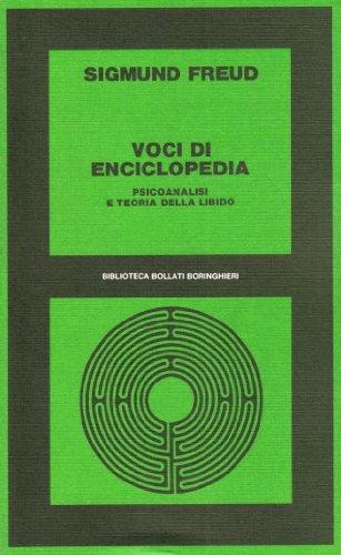 Voci di enciclopedia (9788833902203) by Sigmund Freud