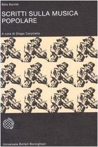 9788833903378: Scritti sulla musica popolare (Universale Bollati Boringhieri-S. scient.)