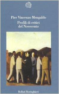 Profili di critici del Novecento (Variantine) (Italian Edition) (8833911233) by Pier Vincenzo Mengaldo