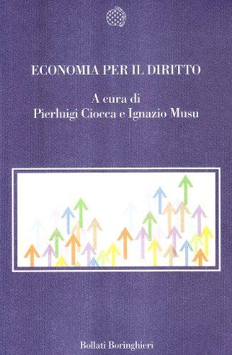 9788833916941: Economia per il diritto. Saggi introduttivi