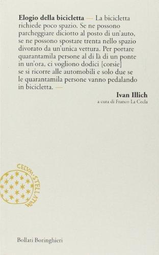 Elogio della bicicletta (9788833917122) by Illich, Ivan