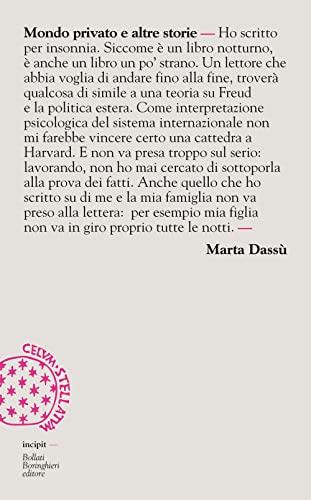 Mondo privato e altre storie: Marta Dassù