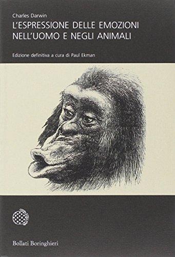 9788833922966: L'espressione delle emozioni nell'uomo e negli animali