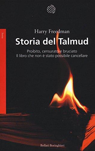 Storia del Talmud. Proibito, censurato e bruciato.: Harry Freedman